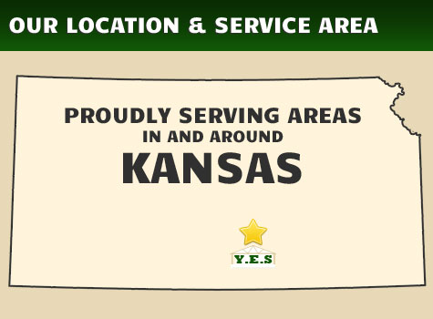 Proudly Serving Areas in Kansas